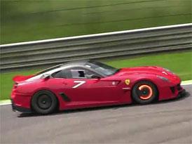 Video: �vouc� Ferrari FXX a 599XX v Monze