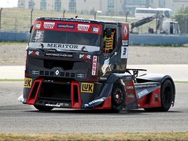 Mistrovství Evropy trucků 2012: Lacko na bedně