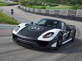 Vývoj Porsche 918 Spyder spěje do finále (nové foto)