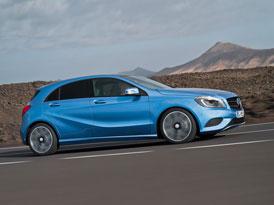Mercedes-Benz třídy A: Motory a technické údaje