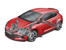 Opel Astra OPC prozrazuje podrobnosti o sv�m podvozku