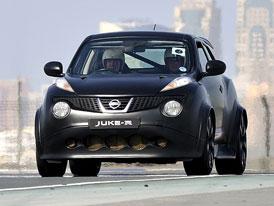 Nissan Juke-R doraz� do Prahy
