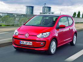 Třídveřový Volkswagen up! v Česku od 192.900,- Kč