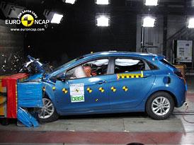 Euro NCAP 2012: Hyundai i30 – Pět hvězd  i pro druhou generaci