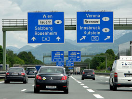 Kudy do Chorvatska, varianta I: Po dálnicích přes Německo