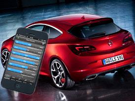 Opel Astra OPC nabídne telemetrii obsluhovanou přes mobil