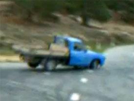 Video: 3D drift se starým pick-upem