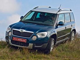 �esk� trh v dubnu 2012: Nejprod�van�j�� mal� ter�nn� vozy, SUV a crossovery