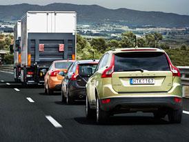 Volva bez řidičů vyrazila na španělskou dálnici