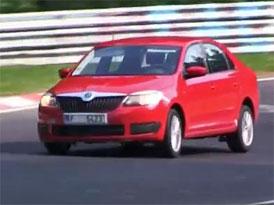 Video: Škoda Rapid natočena na Nürburgringu!