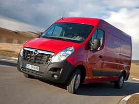 Opel Movano: S nižší spotřebou paliva