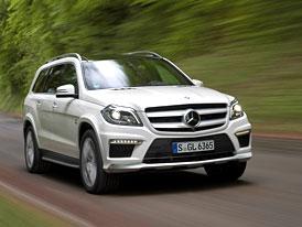 Mercedes-Benz GL 63 AMG: Nová generace terénního expresu