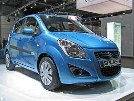 Lipsko živě: Suzuki Splash facelift na vlastní oči