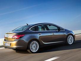 Opel Astra Sedan: Evropské dvojče Buicku Verano