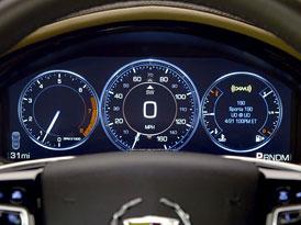 Video: Cadillac XTS předvádí palubní systém CUE