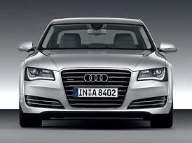 Audi A8 nově i s motorem 4,0 TFSI
