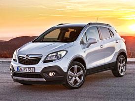 Opel Mokka: Cena v Anglii od 540 tisíc kč