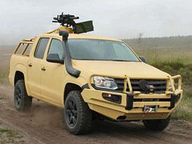 Volkswagen Amarok M: Pick-up v armádním provedení