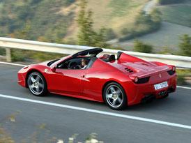Ferrari se pochlubí v Goodwoodu dvěma novinkami: 458 Spider a California 30