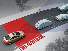 Euro NCAP bude vyžadovat v autech systémy automatického brzdění