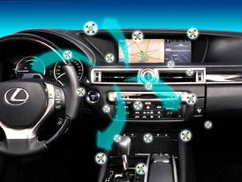 Lexus GS z�skal ocen�n� za inovace v oblasti interi�ru