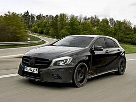 Mercedes-Benz A 45 kone�n� uk�zal svoji podobu