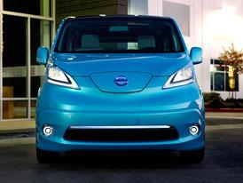 Nissan e-NV200: Elektrick� dod�vka v roce 2013