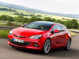 Opel Astra s mírným faceliftem a motorem 2,0 BiTurbo CDTI