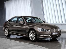 Prodloužené BMW řady 3 jde v Číně na dračku