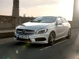 Video: Nový Mercedes-Benz třídy A vyráží do ulic