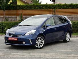 Toyota Prius Plus: První jízdní dojmy
