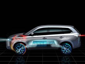 Mitsubishi předvede v Paříži hybridní Outlander se spotřebou 1,9 l/100 km