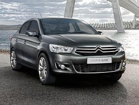 Citroën C-Elysée: Další konkurent pro Škodu Rapid z Francie