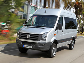 Volkswagen: Prodeje užitkových modelů za prvních pět měsíců 2012