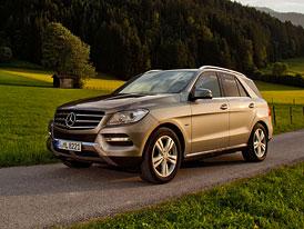 Mercedes-Benz ML nově i jako osmiválcový ML 500