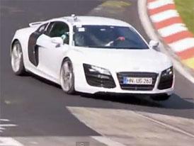 Video: Nové Audi R8  přistiženo na Nürburgringu
