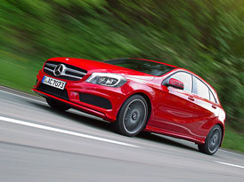 Mercedes-Benz třídy A: Nová fotogalerie