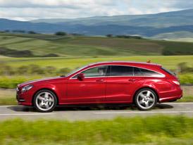 Mercedes-Benz CLS Shooting Brake: Kombi ofici�ln� p�edstaveno
