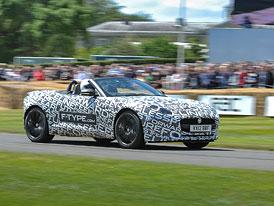 Jaguar F-Type se předvedl v Goodwoodu (video)