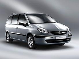 Citroën C8: Letité MPV dostalo decentní modernizaci