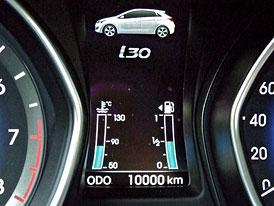 Dlouhodobý test Hyundai i30 1,6 GDI: Prvních 10.000 km