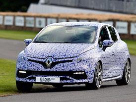Nový Renault Clio RS přijede s dvouspojkovou převodovkou