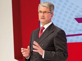 Audi chce být do roku 2020 jedničkou mezi prémiovými výrobci