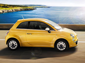 Fiat 500 a 500C maj� novou edici Happy Birthday