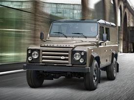 Land Rover Defender XTech: Luxusnější dodávky do drsného terénu