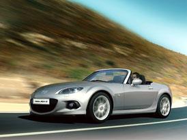 Modernizovaná Mazda MX-5 dorazí do Evropy na podzim
