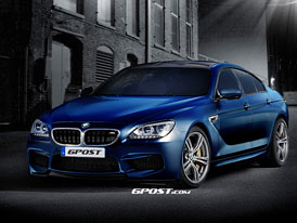 BMW M6 přijede i ve čtyřdveřové verzi Gran Coupe
