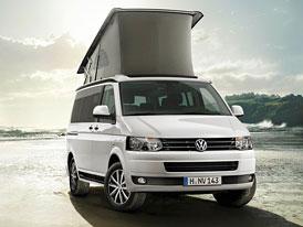Volkswagen California Edition: Novinka pro milovníky kempování