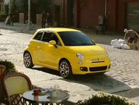 Video reklama na Fiat 500: Nová vlna italských přistěhovalců