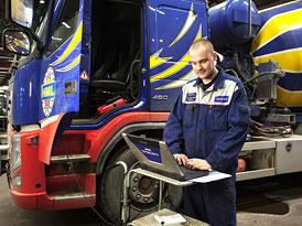 Volvo Trucks: Dálková kontrola technického stavu